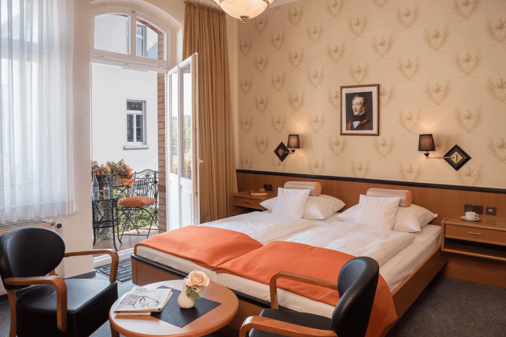 Zimmer Hotel Villa am Kurpark