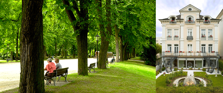 Hotellerie Löw Bad Homburg Hotel am Kurpark